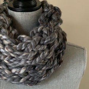 Storm Handmade Arm Knit Infinity Scarf